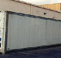 Refrigerated container size 40 foot